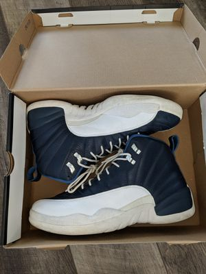Jordan retro 12 obsidian blue size 12 for Sale in Denver, CO