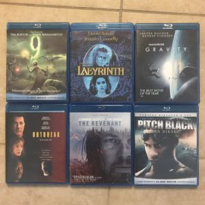 10 Blu-Ray Movies for Sale for sale  San Marcos, TX