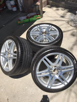 "Mercedes-Benz AMG 18"" Alloy Wheels (Rims with Tires) for Sale in West Covina, CA"