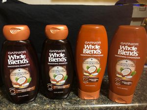 GARNIER WHOLE BLENDS WITH COCONUT OIL & COCOA BUTTER SHAMPOO & CONDITIONER for Sale in Phoenix, AZ