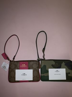 NEW Genuine COACH wristlets for Sale in Fort Carson, CO