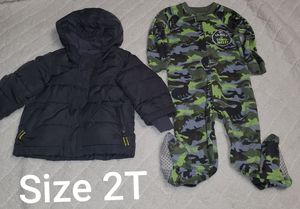 2T Jacket and Pj for Sale in Renton, WA