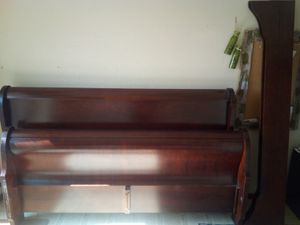 Nice wooden King size bed frame for Sale in Springfield, MO