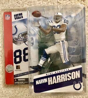 McFarlane Football Marvin Harrison Colts Figure for Sale in Walnut Creek, CA
