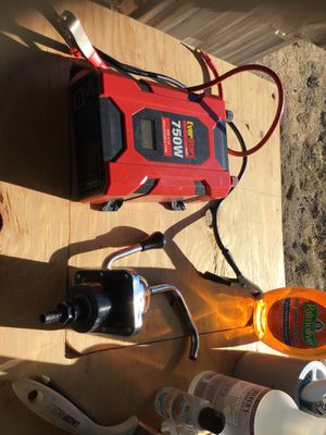 Inverter and hand pump sink for Sale in Scotts Valley, CA