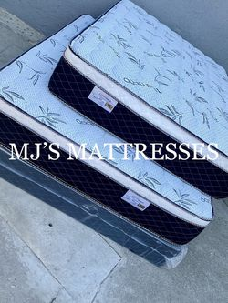 BAMBOO PILLOW TOP MATTRESS 💥 BEST PRICES 🚛 WE DELIVER ANY DAY ANY WHERE 💯✅ for Sale in Inglewood,  CA