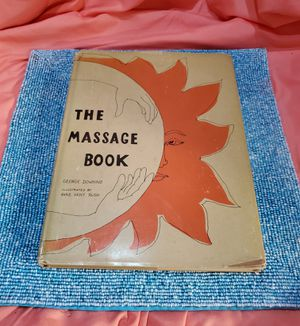 """1972 """"The Massage Book"""" by George Downing Book, in Great Condition for Sale in Port St. Lucie, FL"""