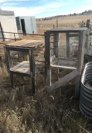 Free Rabbit hutches for Sale in Calhan, CO