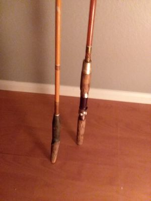 Two vintage fishing poles for Sale in Mesa, AZ