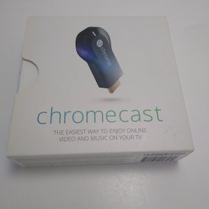 Chromecast 2.4GHz WiFi Network Stream TV Google Android iOS Windows Mac for Sale in Cleveland, OH