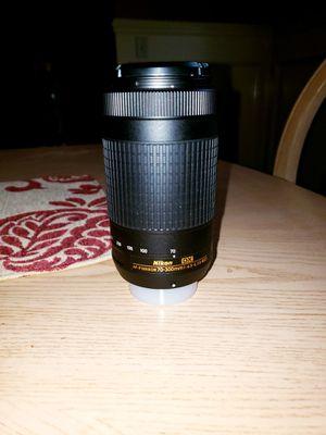 Nikon AF-P Nikkor 70mm-300mm 1:4.5-6.3 for Sale in Montgomery, AL