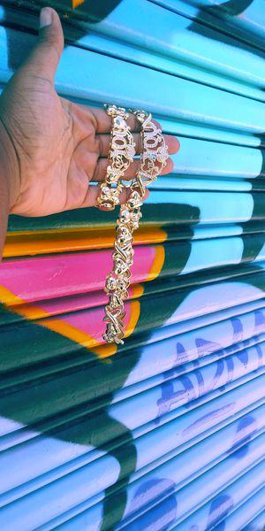 🚚💨I deliver🚀I Ship...😍😍14kt 💎Gold filled 💦 Necklace and bracelet 🌟🌟🌟🌟🌟 for Sale in Hollywood, FL
