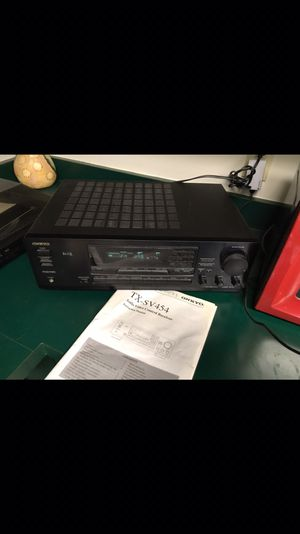 Onkyo Tx-sv454 Surround sound receiver with remote control $25 for Sale in Orlando, FL