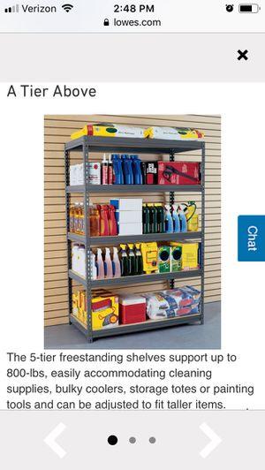 Edsel storage shelves for Sale in Stevensville, MI