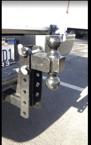 "Dual hitch ball tow hitch 10"" raise drop trail hitch for Sale in Hacienda Heights, CA"