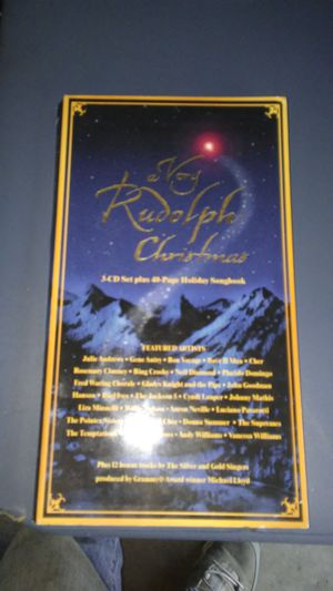 Very Rudolph Christmas collectors set CD for Sale in UPPER ARLNGTN, OH