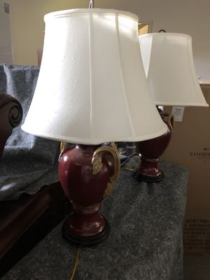 Set of two high quality lamps for Sale in Wenatchee, WA