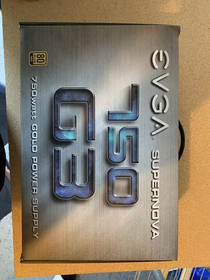 EVGA SuperNOVA 750 G3 Power Supply for Sale in Monroe, WA