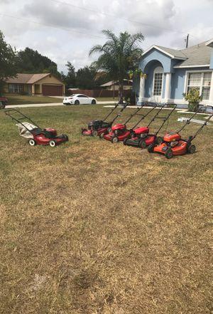 Lawn mowers for sale for Sale in Deltona, FL