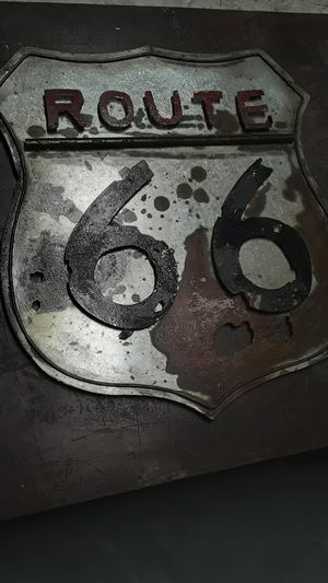 Route 66 metal sign for Sale in Irwindale, CA