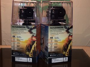 4K Action Cams, 15 Accessories included for Sale in Fort Myers, FL