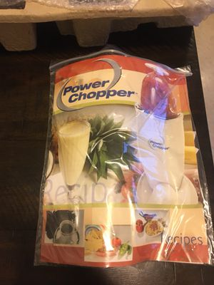 Power Chopper Blender - Open box, never used for Sale in Brooklyn, NY