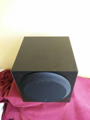 Yamaha subwoofer..near mint!! Sounds awesome!! Very compact!! for Sale in Miami, FL