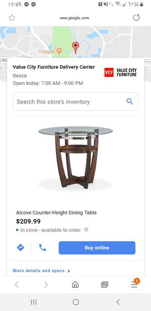 Breakfast or small dining table for sale... for Sale in Carol Stream, IL