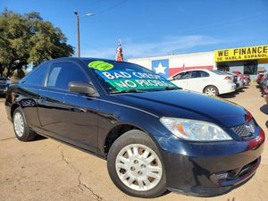 2005 Honda Civic Cpe for Sale in Garland, TX