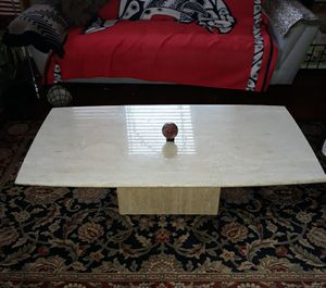Solid Marble coffee table for Sale in Everett, WA