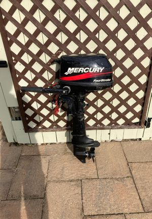 2008 Mercury Outboard with 2008 West Marine Boat/canoe/skiff for Sale in West Long Branch, NJ