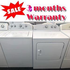 ❗️whirlpool washer and dryer ❗️ for Sale in Tampa, FL