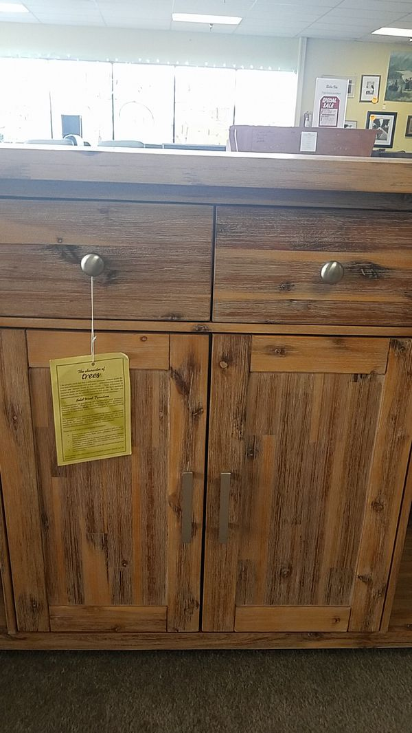 Cedar Wood Kitchen Counter Top Cabinet For Sale In