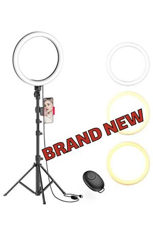 "Ring Light with Tripod and Phone Holder 10"" for Sale in San Diego, CA"