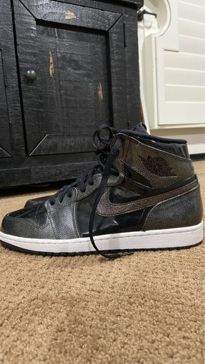 """Jordan 1 High """"Black patten"""" size 10.5 for Sale in Chino, CA"""