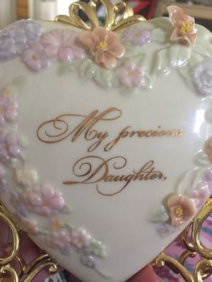 "Bradford exchange ""Daughter"" treasures of the heart for Sale in Rancho Cucamonga, CA"