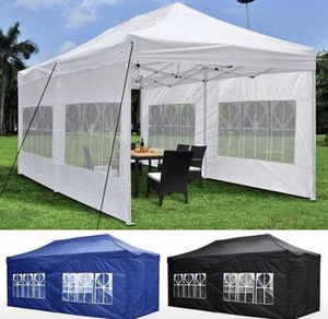 🎉🎉🎉Heavy Duty Pop Up Canopy Tent 10x20ft Available in BLACK •WHITE •BLUE🎉🎉🎉 for Sale in Pomona, CA