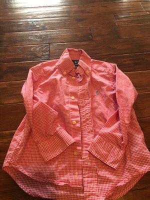 2T boys Polo Ralph Lauren shirt for Sale in Great Falls, VA