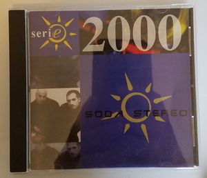 Soda stereo serie 2000 cd for Sale in Tuscola, TX
