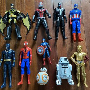 Marvel, DC Comic and Star Wars Action Figures for Sale in Gibsonia, PA