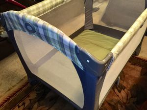 Graco Pack and Play Infant Baby Portable Play Pen for Sale in Gilbert, AZ