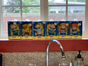 Rugrats 90s toy collectible whole set for Sale in Los Angeles, CA