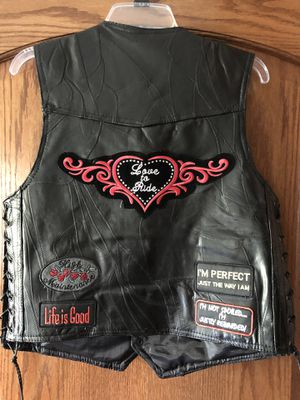 Ladies Motorcycle Vest for Sale in Lemont, IL