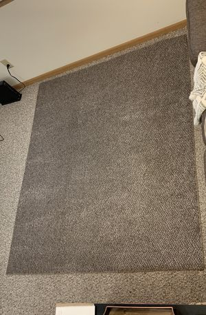 5x7 brown area rug for Sale in DeKalb, IL
