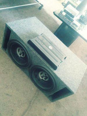 Memphis Audio setup for Sale in Stockton, CA