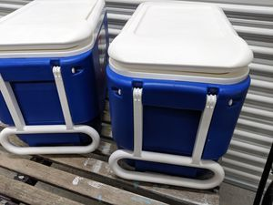 Two coolers. Clean inside and out for Sale in Miami, FL