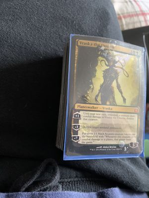 Magic cards. I have two large stacks. Plainswalkers and some rare cards. for Sale in Kalamazoo, MI