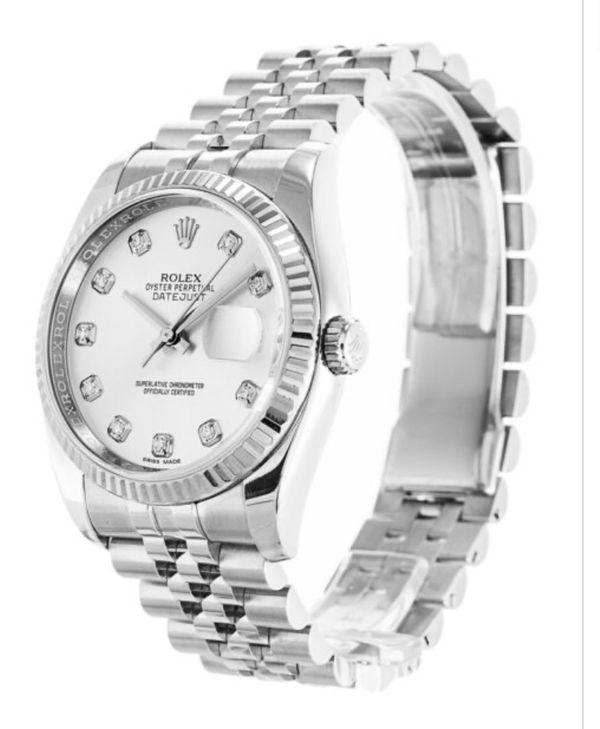 Automatic Diamond DateJust 116234 Rolex