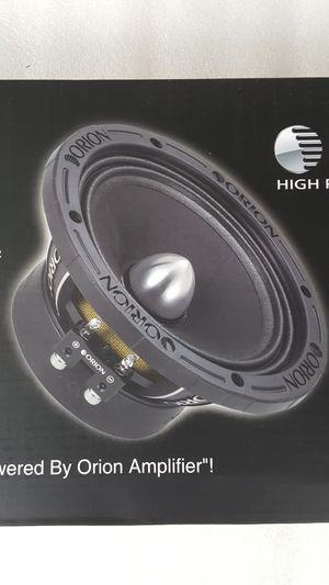 "Orion XTX654 XTR 6.5"" 350W RMS Pro Audio Midrange Speakers 1400W Max 4 Ohm (PAIR) for Sale in Santa Ana, CA"