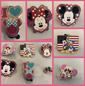 Disney collectible pins for Sale in Houston, TX